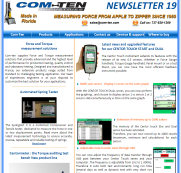Newsletter april 2015 - New features for the force and torque gauges Centor Touch