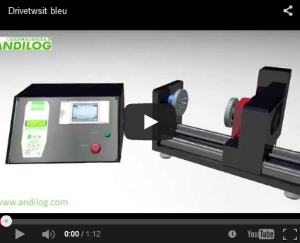Watch the presentation Video DriveTwist Automated torsion tester